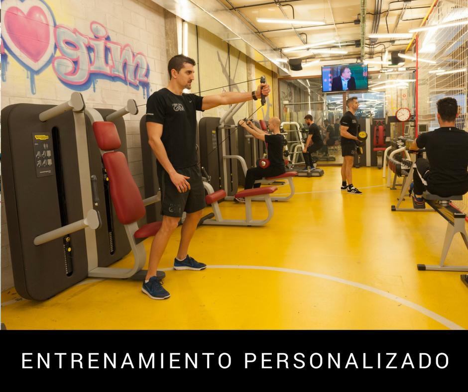 gimnasio con entrenador personal personal gim