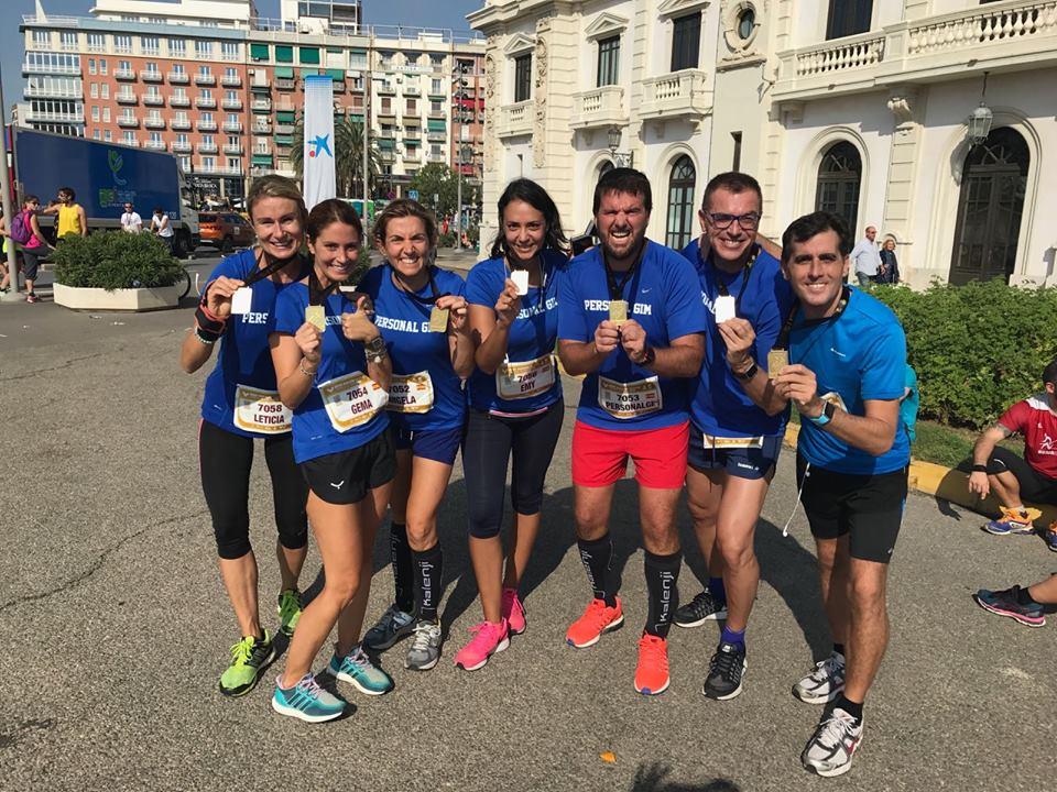 Correr en grupo Valencia