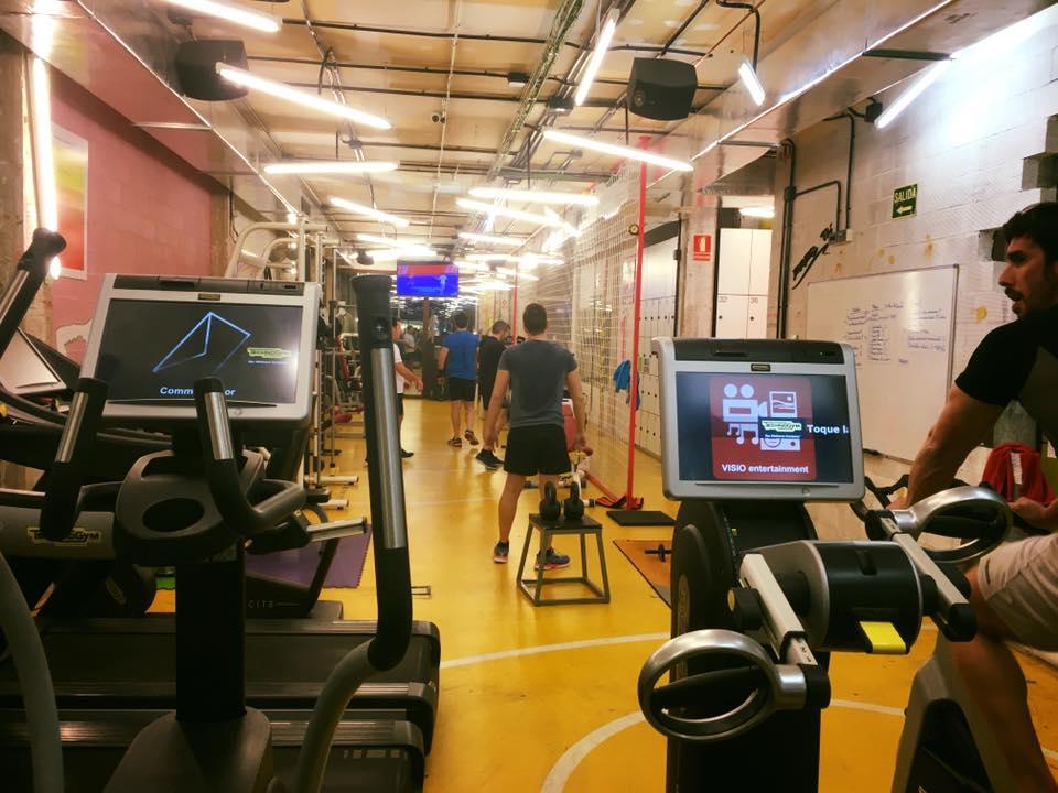 gimnasio con personal trainer Valencia centro