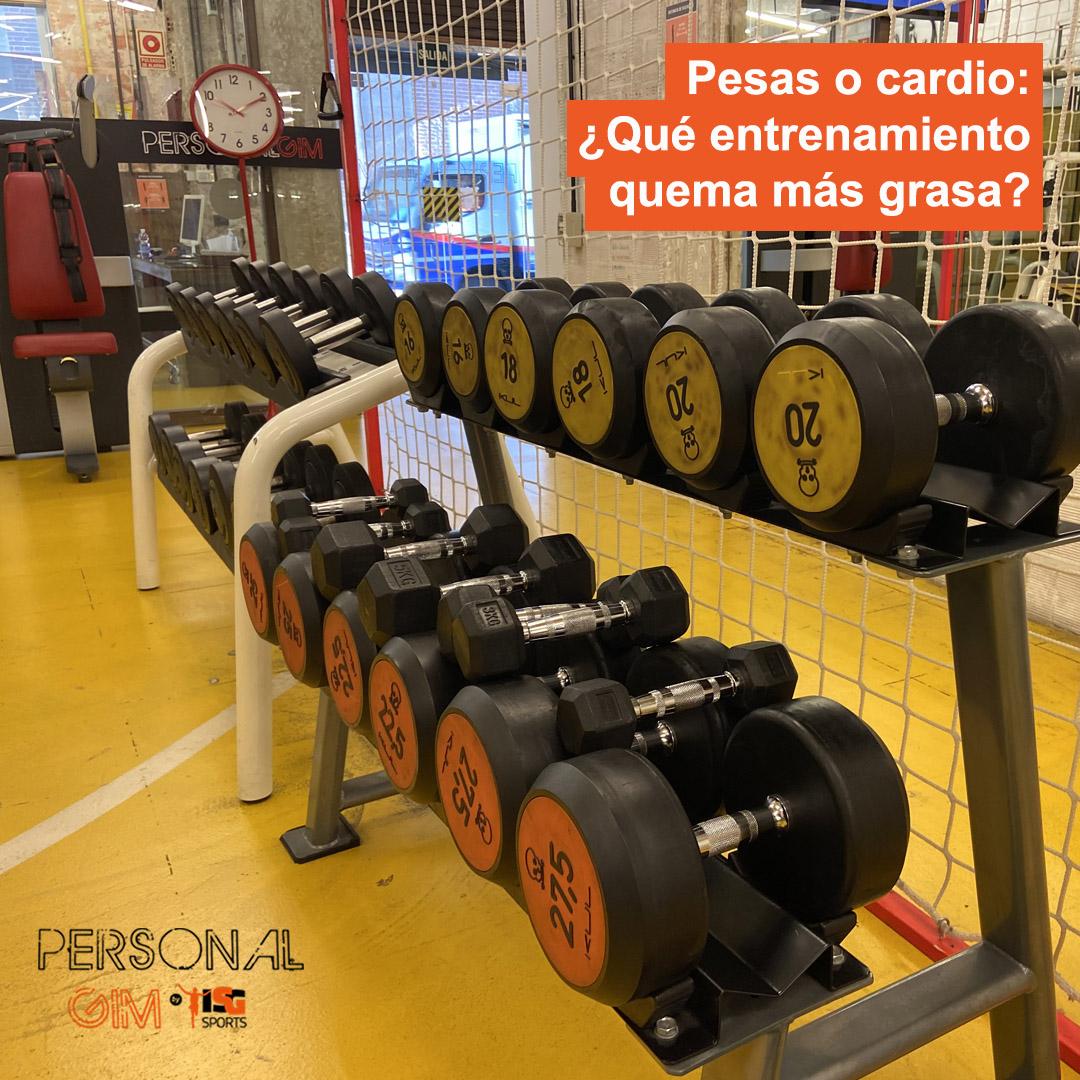 Pesas o cardio: ¿Qué entrenamiento quema más grasa?